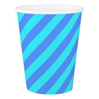 HAMbyWG - Paper Cup - Blue Sherbert Stripe