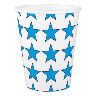 HAMbyWG - Paper Cup - Blue Stars