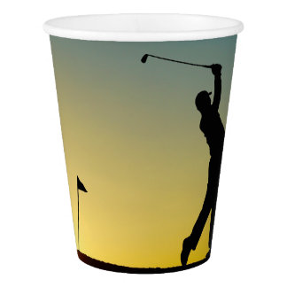 HAMbyWG - Paper Cup - Golfer