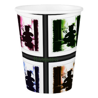 HAMbyWG -  Paper Cup - Gothic Teddy