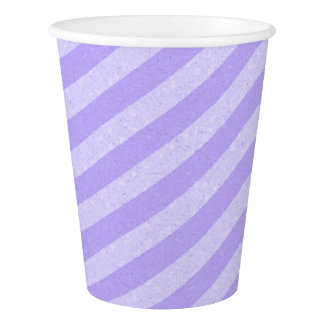 HAMbyWG - Paper Cup -  Lilac Lilac Stripe