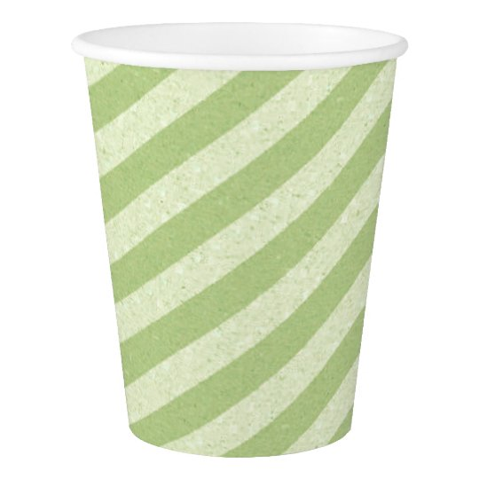 HAMbyWG - Paper Cup -  Lime Lime Stripe