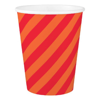 HAMbyWG - Paper Cup - Orange Sherbert Stripe