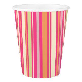 HAMbyWG - Paper Cup - Pink Sherbert Stripe