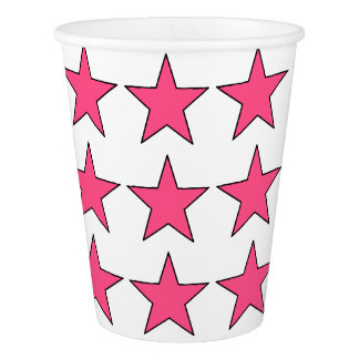 HAMbyWG - Paper Cup - Pink Stars