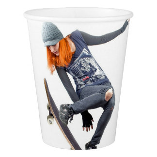HAMbyWG -  Paper Cup - Skateboarder
