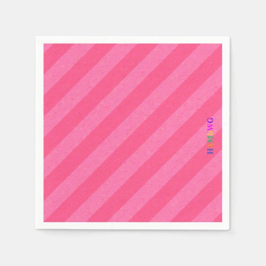 HAMbyWG - Paper Napkin - Pink Pink