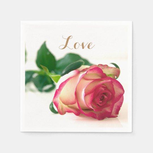 HAMbyWG - Paper Napkin - Single Rose