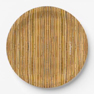 "HAMbyWG - Paper Plate 7 or 9"" - Bamboo Image"