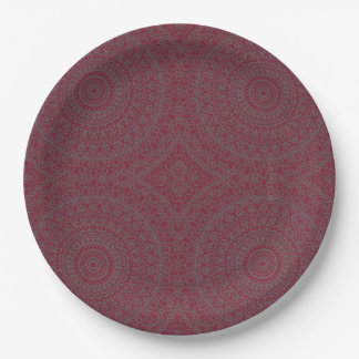 """HAMbyWG - Paper Plate 7 or 9"""" - Bohemian Cherry"""