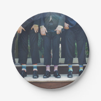 HAMbyWG - Paper Plate - Men in Socks