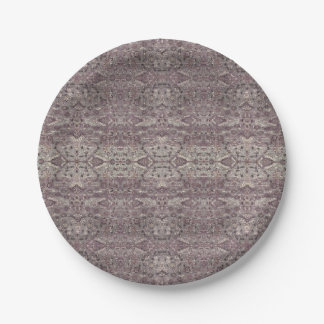 HAMbyWG - Paper Plate - Vintage Mauve 2 7 Inch Paper Plate