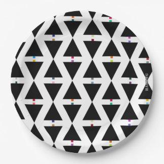 "HAMbyWG - Paper Plates 9"" - Christmas Trees"