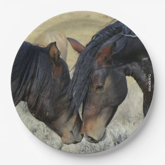 """HAMbyWG - Paper Plates 9"""" - Horse"""