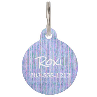 HAMbyWG - Pet Name Tag - Crayola Lilac