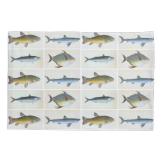 HAMbyWG - Pillow Case -Four Fish