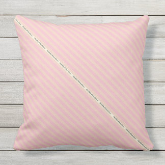 HAMbyWG - Pillow   - Custom Colored Stripes