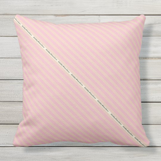 HAMbyWG - Pillow   - Custom Coloured Stripes