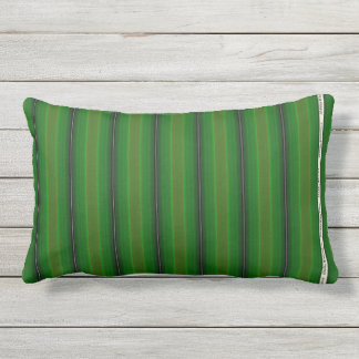 HAMbyWG - Pillow  - Green Glowing  Stripe