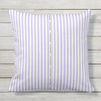 HAMbyWG - Pillow  -  Lilac White Stripe