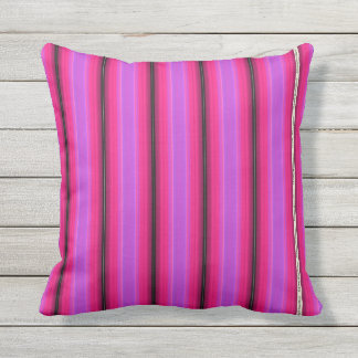 HAMbyWG - Pillow   - Pink Violet Glowing Stripe
