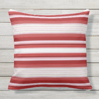 HAMbyWG - Pillow - Red White Gradient