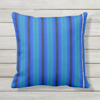 HAMbyWG - Pillow   - Rich Blue Glowing Stripe