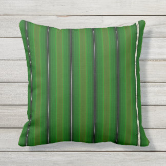HAMbyWG - Pillow   - Rich Green Glowing Stripe
