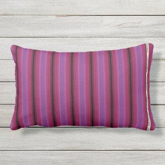 HAMbyWG - Pillow   - Rich Pink Violet  Stripe