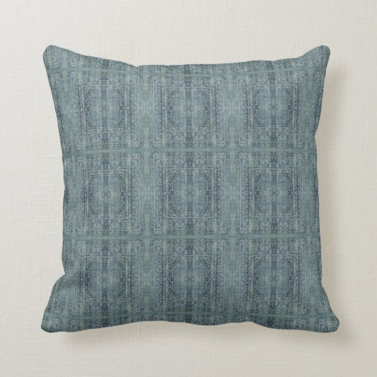 HAMbyWG - Pillow -  Vintage Lt. Teal Blue Persian