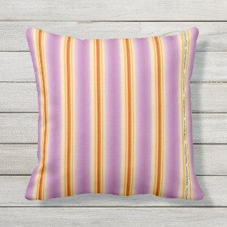 HAMbyWG - Pillow  - Violet Orange Stripe