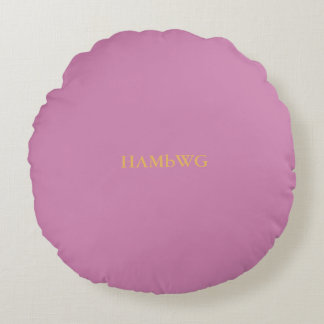 HAMbyWG Pillows - Pink  & Tangerine w Logo