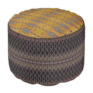 HAMbyWG - Pouf Chair - Colorful Boho Style Design