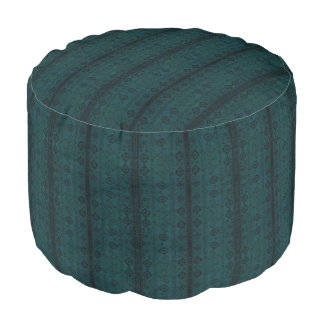 HAMbyWG - Pouf Chair - Teal Native Design