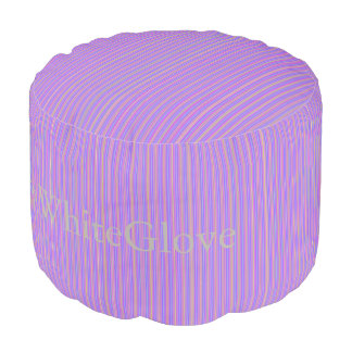 HAMbyWG - Pouf Chair -  Violet w other color lines