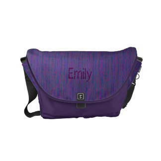 HAMbyWG - Rickshaw Messenger Bag - Lavender Purple