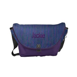 HAMbyWG - Rickshaw Messenger Bag - Purple