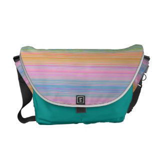 HAMbyWG Rickshaw Messenger - Bright Multicolor Courier Bags