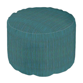 HAMbyWG - Round Pouf Chair -  Crazy Teal