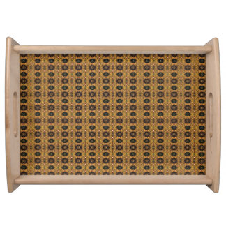 HAMbyWG - Serving Tray - Victorian Gold Print