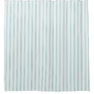 HAMbyWG - Shower Curtain - Seafoam Stripe