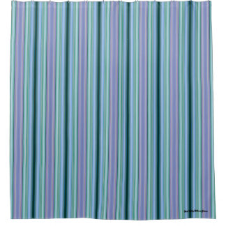 "HAMbyWG Shower Curtains - Gradient ""Blueberry"""