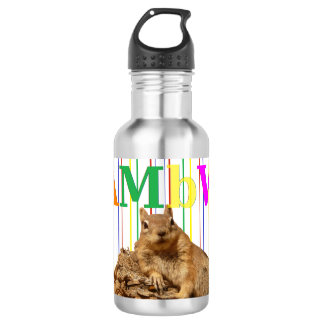 HAMbyWG Squirrel/Vintage- Water Bottle