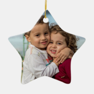 HAMbyWG - Star Shaped Photo Ornament