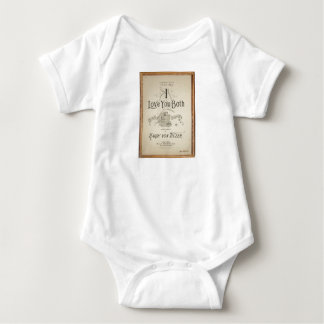 HAMbyWG -T-Shirt -  I Love You Both Baby Bodysuit