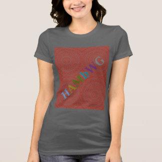 HAMbyWG - T-Shirts - Brick Color Boho Design