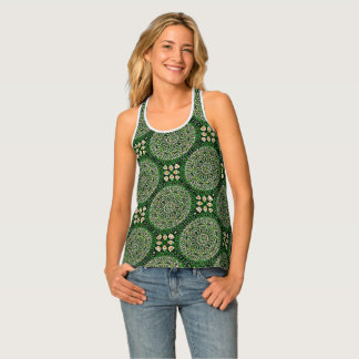 HAMbyWG - Tank Tops - Green Stained Glass
