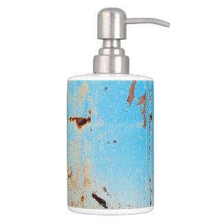 HAMbyWG - TB Holder n Soap Disp. - Aqua Blue
