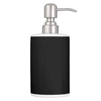 HAMbyWG - TB Holder n Soap Disp. - Black on White