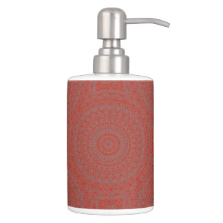 HAMbyWG TB Holder n Soap Dispense - Red  Bohemian